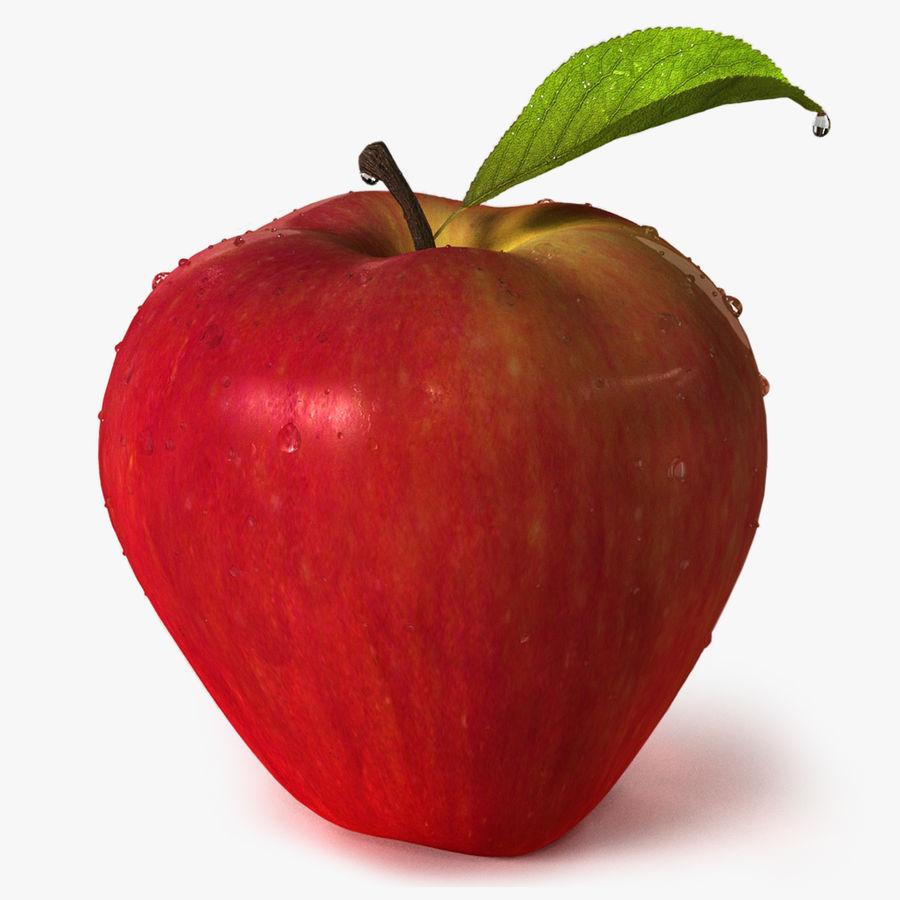 Fruta de manzana royalty-free modelo 3d - Preview no. 1