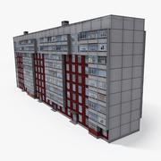 Lowpoly Oost-Europa Gebouw 13 3d model