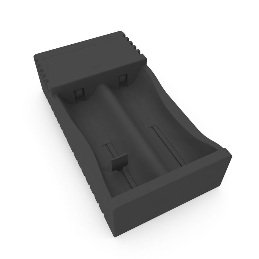 Battery Charger royalty-free 3d model - Preview no. 10