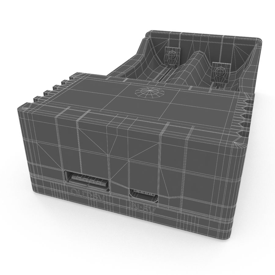 Battery Charger royalty-free 3d model - Preview no. 18