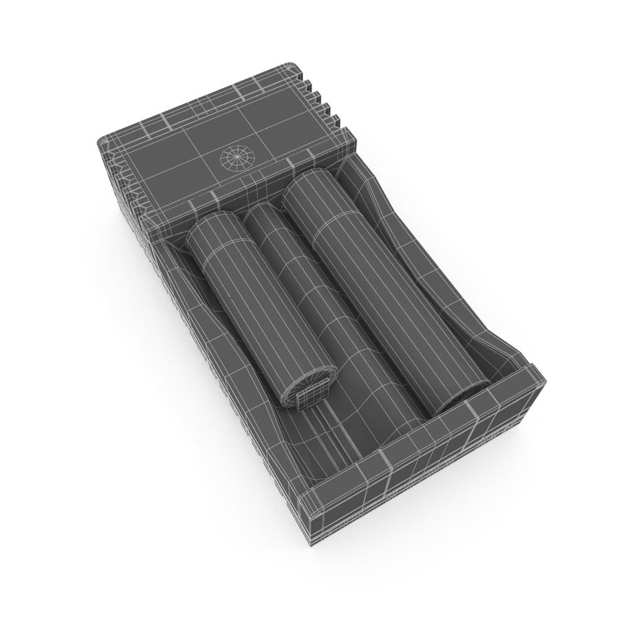Battery Charger royalty-free 3d model - Preview no. 16