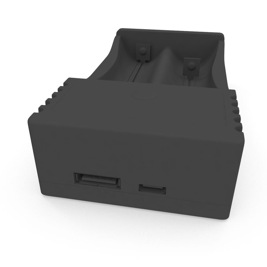 Battery Charger royalty-free 3d model - Preview no. 11
