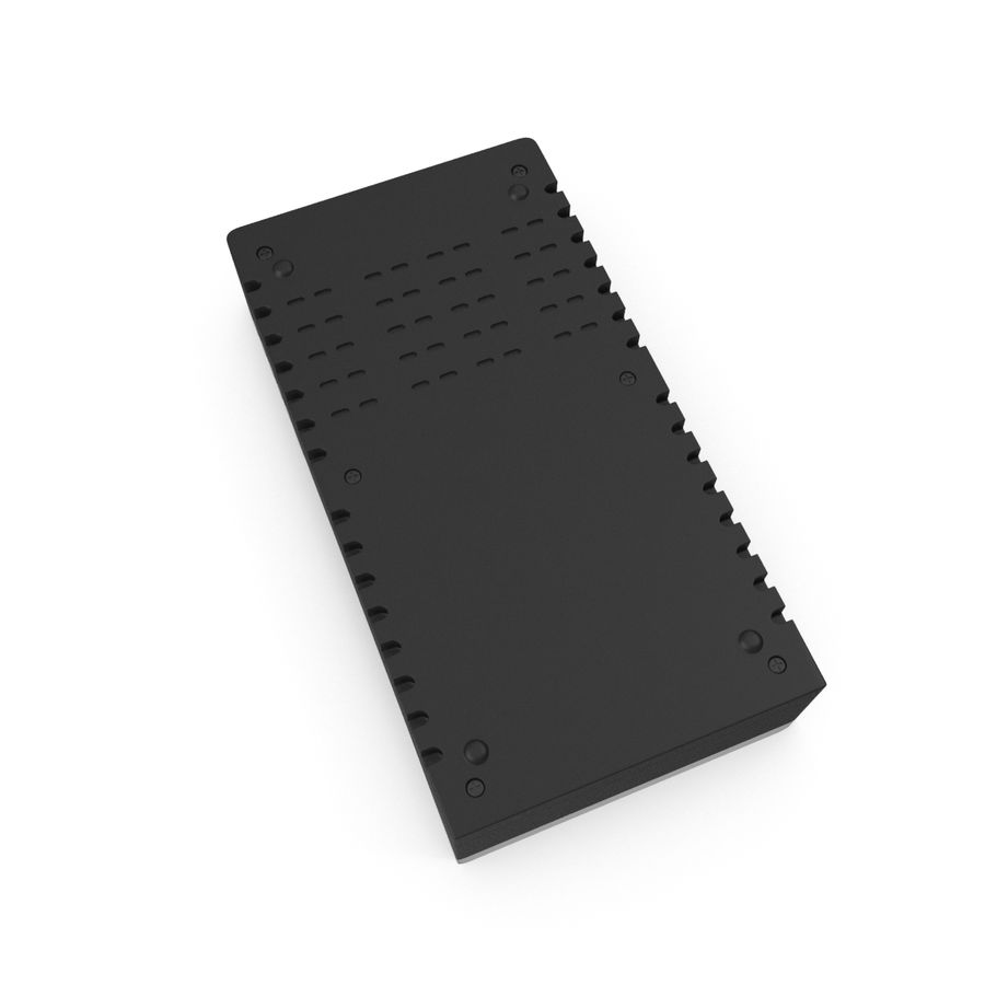Battery Charger royalty-free 3d model - Preview no. 4