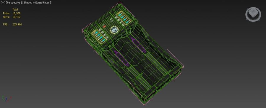 Battery Charger royalty-free 3d model - Preview no. 23