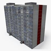 Lowpoly East Europe Building 16 3d model