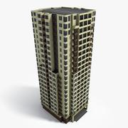 Lowpoly East Europe Building 21 3d model
