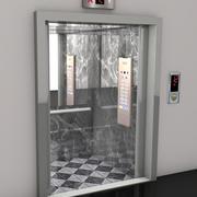 Asansör 3d model