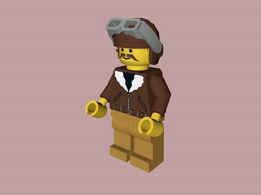 LEGO Aviator Karakteri royalty-free 3d model - Preview no. 1