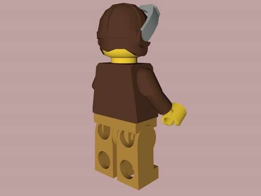 LEGO Aviator Karakteri royalty-free 3d model - Preview no. 5