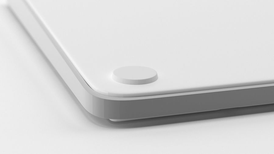 Apple Magic Keyboard royalty-free 3d model - Preview no. 10