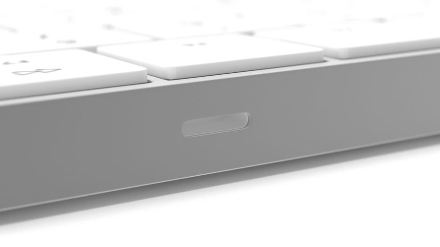 Apple Magic Keyboard royalty-free 3d model - Preview no. 8