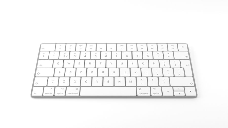 Apple Magic Keyboard royalty-free 3d model - Preview no. 1