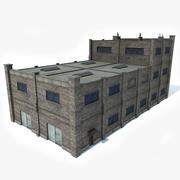 Factory Building 5 3d model