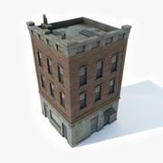 Apartment Building 7 3d model