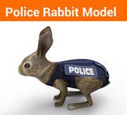 rabbit low poly model 3d model