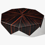 Petalas Wide Coffee Table 3d model