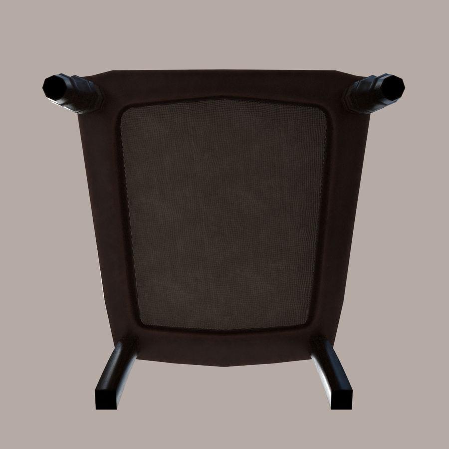 扶手椅棕色 royalty-free 3d model - Preview no. 9