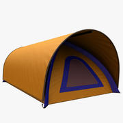 barraca de acampamento 8 3d model