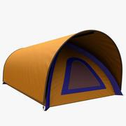 camping tent 8 3d model