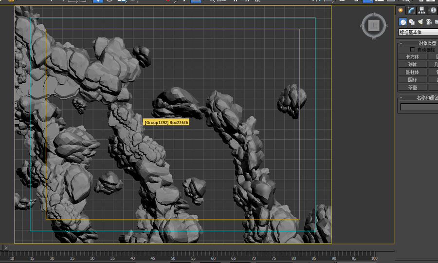 berg 3D-modell royalty-free 3d model - Preview no. 1