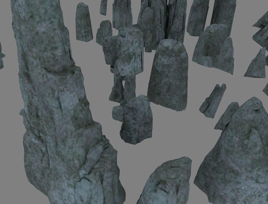 3D mountain 3D model royalty-free 3d model - Preview no. 2
