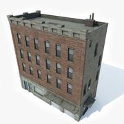 Apartment Building 5 3d model