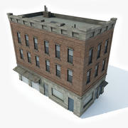 Apartment Building 6 3d model