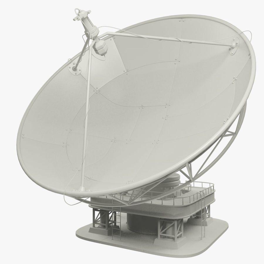 Antena satelitarna duża royalty-free 3d model - Preview no. 7