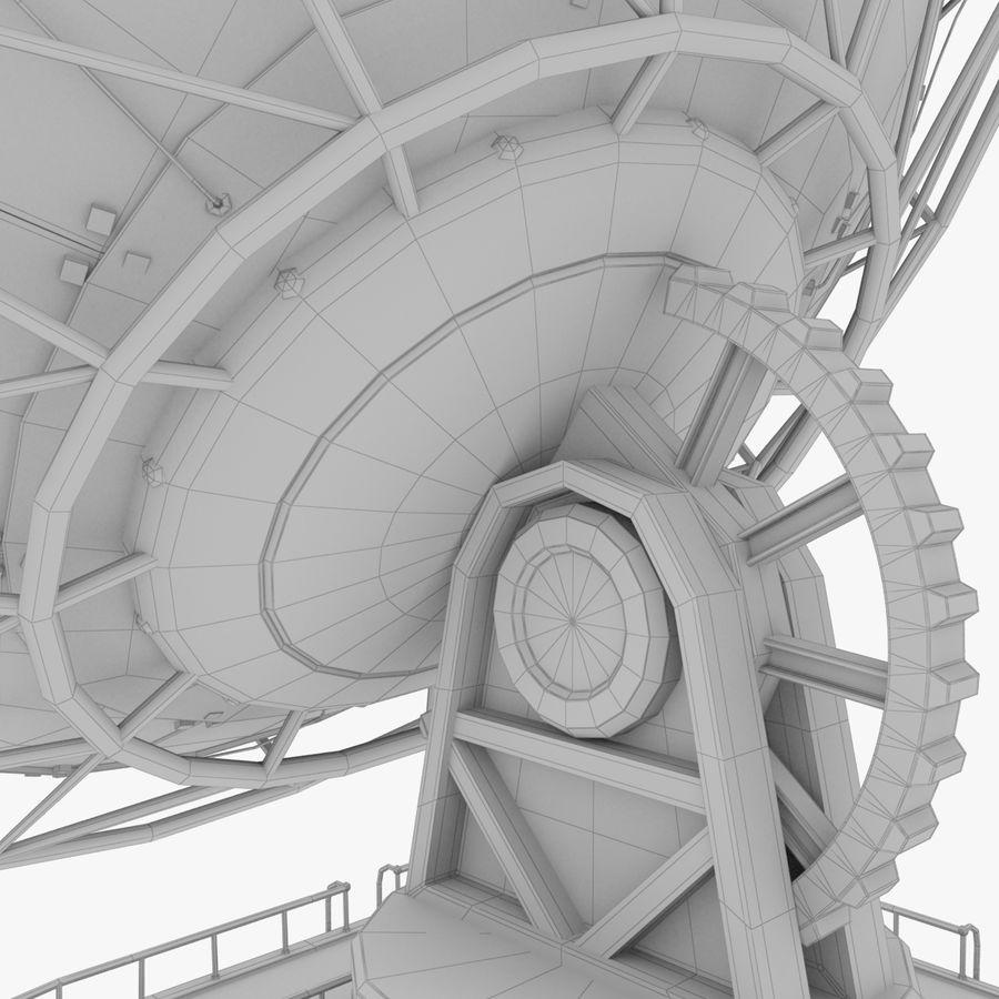 Antena satelitarna duża royalty-free 3d model - Preview no. 14