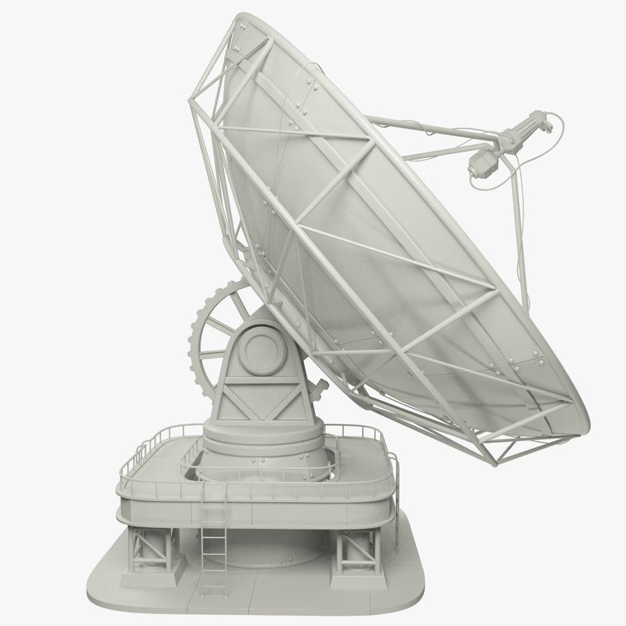 Antena satelitarna duża royalty-free 3d model - Preview no. 2