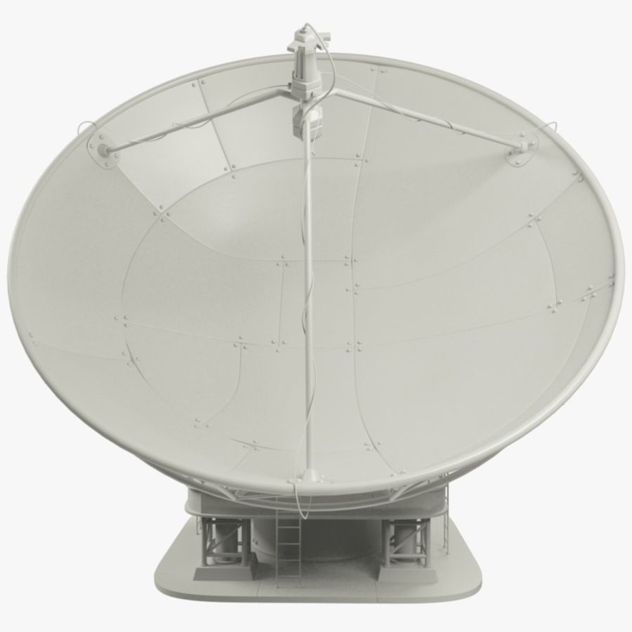 Antena satelitarna duża royalty-free 3d model - Preview no. 8