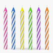 doğum günü mumları (1) 3d model