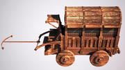 old_wagon 3d model