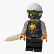 Lego Minifigure Ninja 3d model