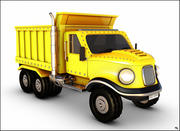 Dump Truck Cartoon 3d model
