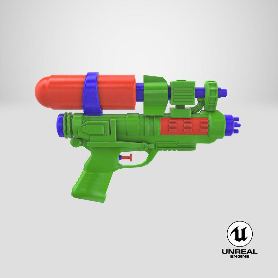 Vattenpistol royalty-free 3d model - Preview no. 18