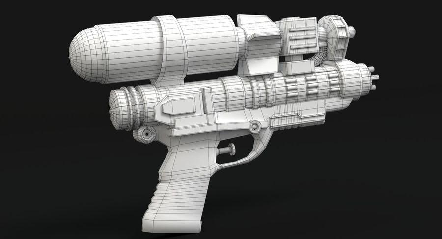 Vattenpistol royalty-free 3d model - Preview no. 11