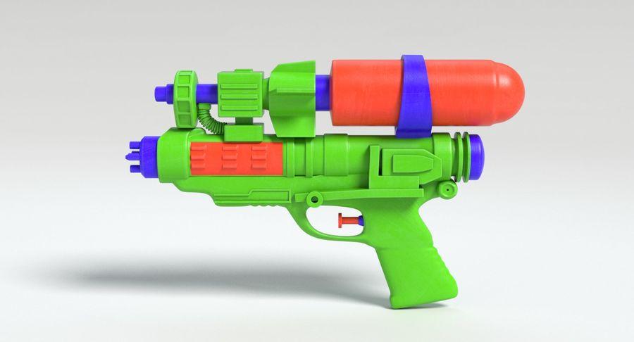 Vattenpistol royalty-free 3d model - Preview no. 7