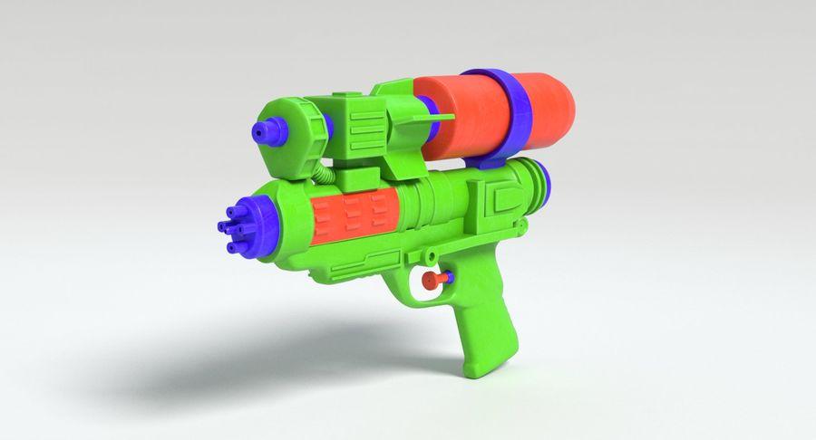 Vattenpistol royalty-free 3d model - Preview no. 8