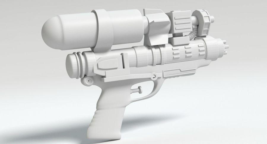 Vattenpistol royalty-free 3d model - Preview no. 10