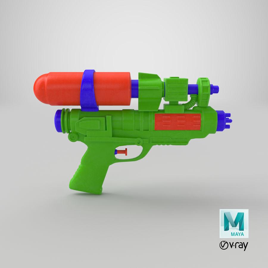 Vattenpistol royalty-free 3d model - Preview no. 13