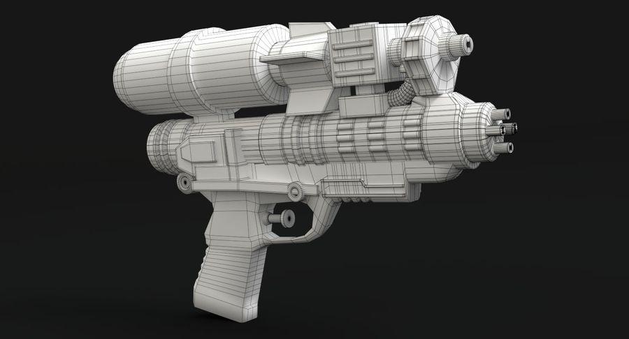 Vattenpistol royalty-free 3d model - Preview no. 12