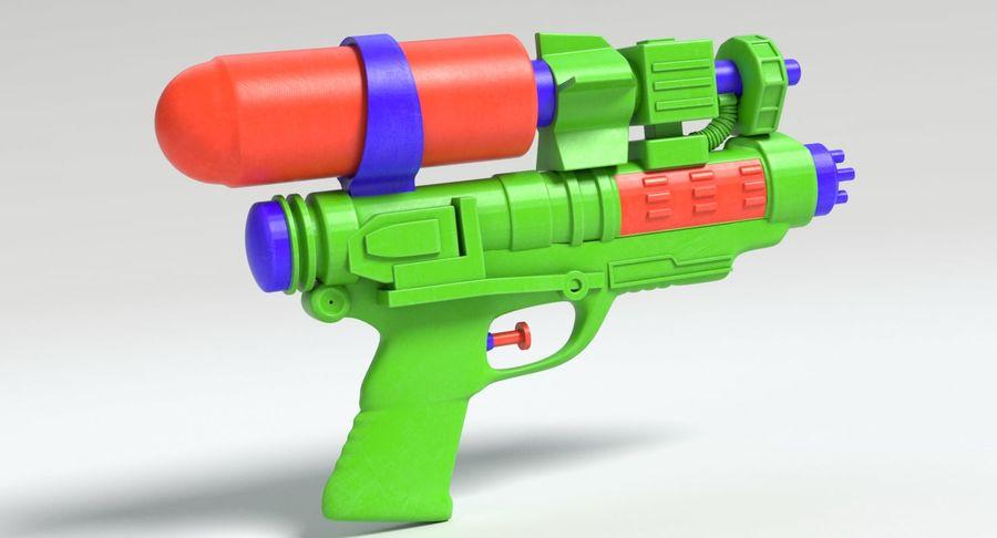 Vattenpistol royalty-free 3d model - Preview no. 3