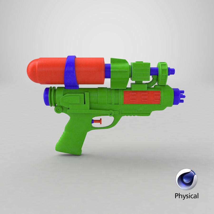 Vattenpistol royalty-free 3d model - Preview no. 17