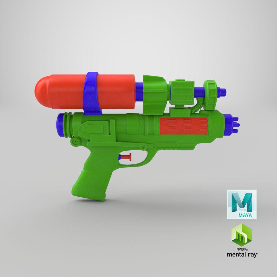 Vattenpistol royalty-free 3d model - Preview no. 14