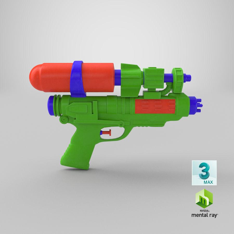 Vattenpistol royalty-free 3d model - Preview no. 16