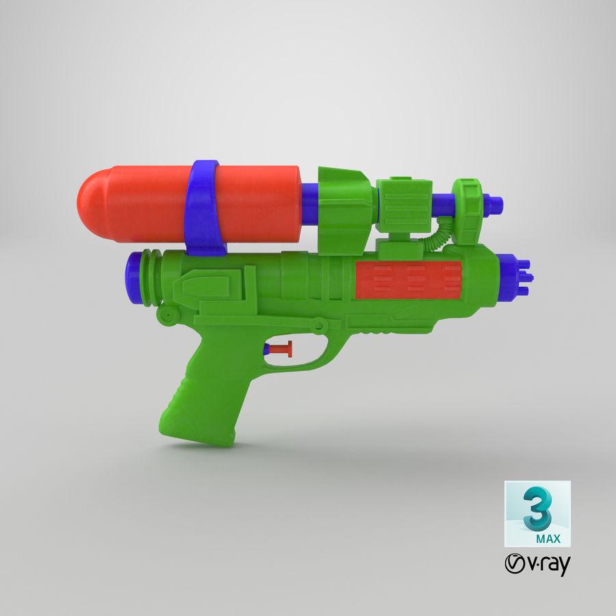 Vattenpistol royalty-free 3d model - Preview no. 15