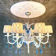 Bedroom Classical Chandelier 3d model
