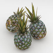 Owoc ananasa 3d model