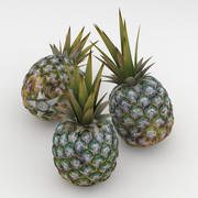 Pineaple Fruit 3d model